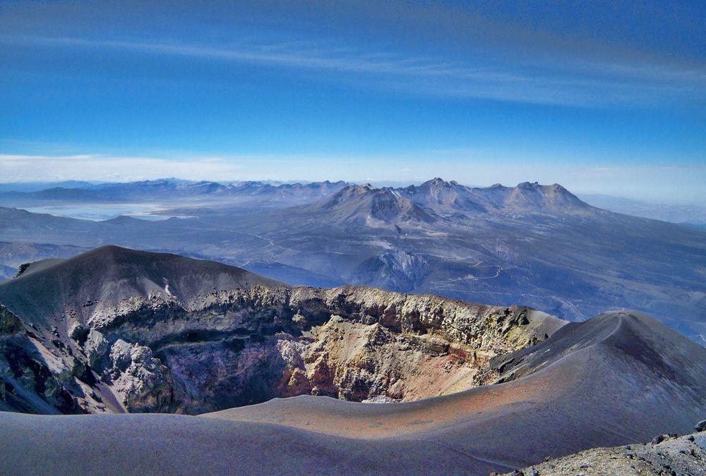 Ascension du Volcan Misti