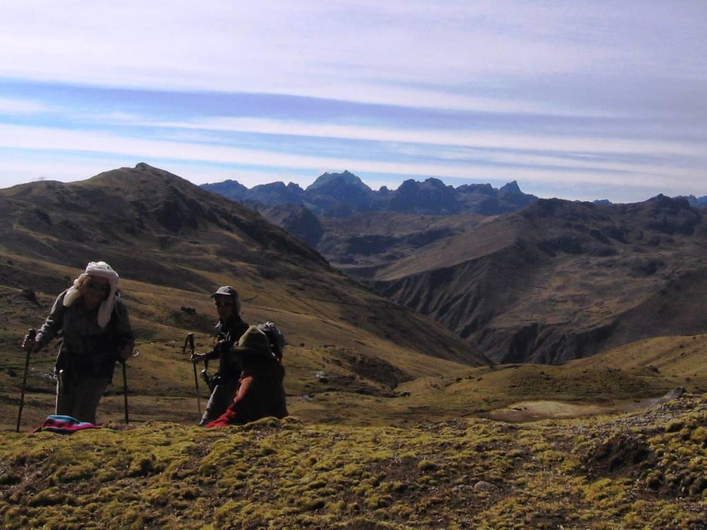 Col de Sacsayllame (4440m)