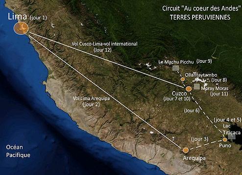 Circuit Pérou au coeur des Andes