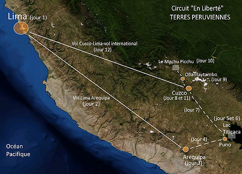 Voyage sur mesure Pérou en liberté