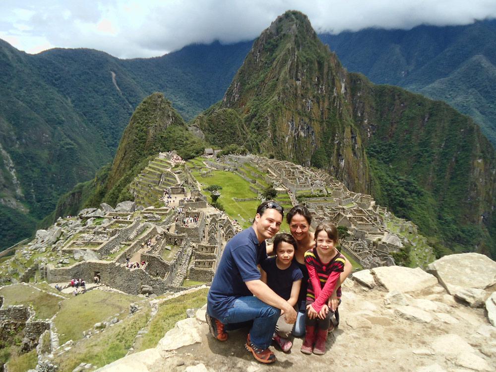 Machu Picchu en famille