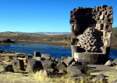 Lac Titicaca - Silustani