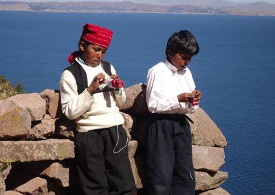 Lac Titicaca - Taquile