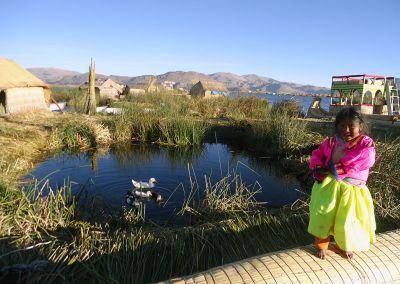 Lac Titicaca - Uros
