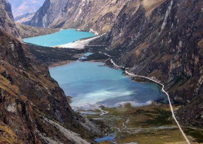 Lac Llaganuco - Cordillère blanche