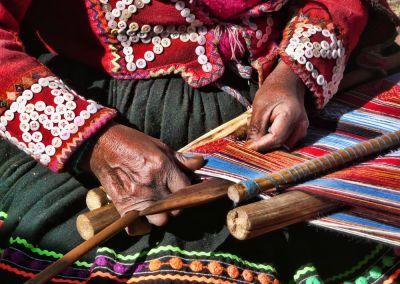 Tissage - Vallée Sacrée des Incas