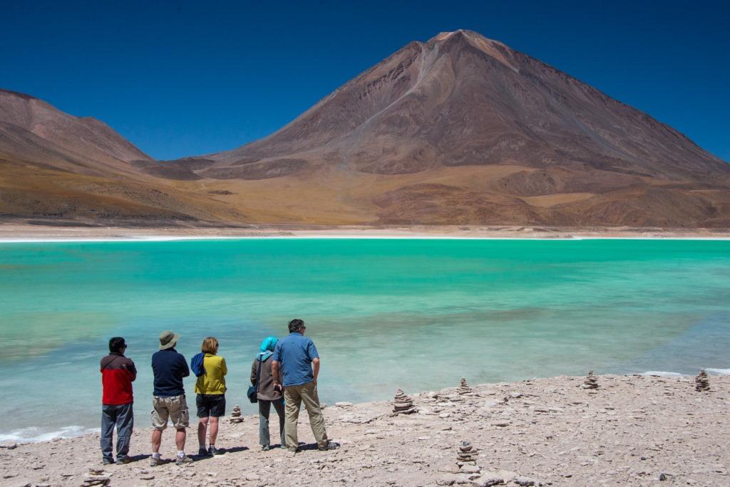 Laguna verde - Circuit groupe Pérou Bolivie avec Terres Péruviennes