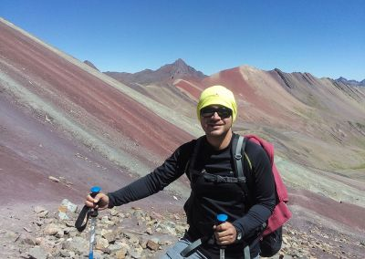 Trek Montagne Arc en Ciel - Rainbow Mountain