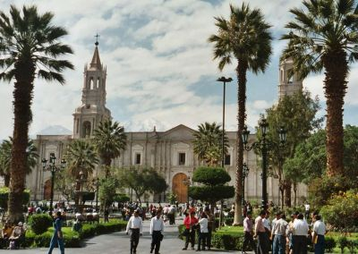 Arequipa - Cathédrale