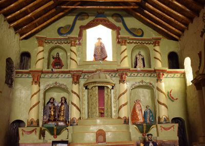 Canyon de Colca - Eglise de Tapay