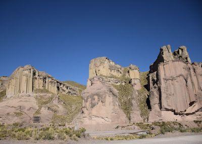 Canyon colca - Cheminées de fée