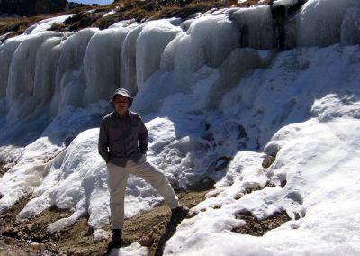 Canyon colca - Glacier