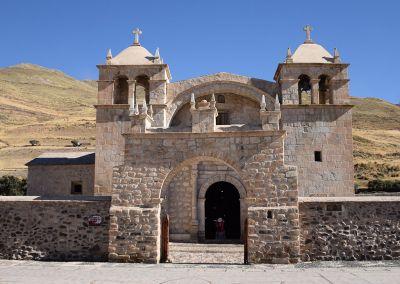 Canyon Colca - Eglise de Sibayo