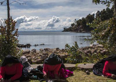 Lac Titicaca - Amantani