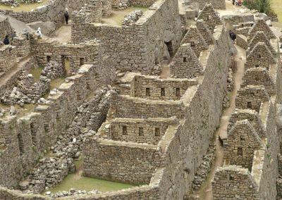 Machu Picchu - Maisons Incas