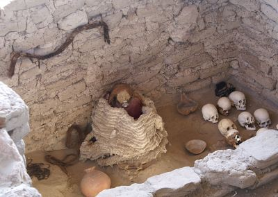 Nazca - Cimetière Chauchilla