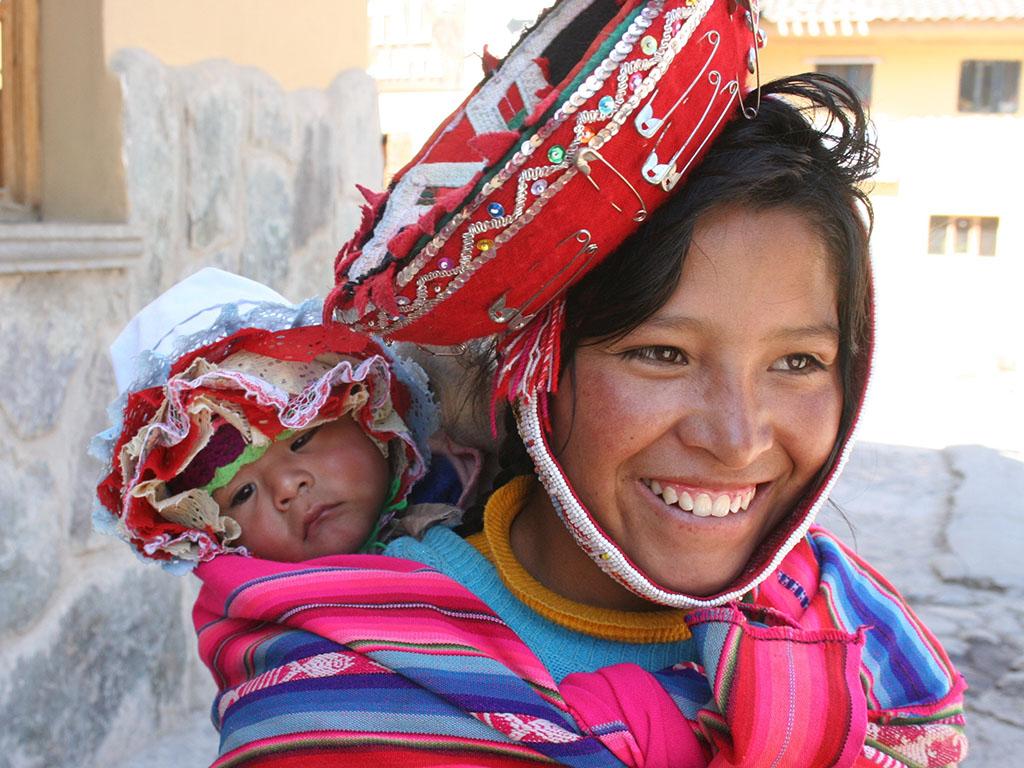 Vallée Sacrée - Femme péruvienne