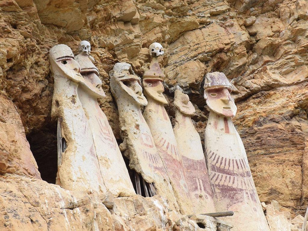 Sarcophages de Kajaria - Chachapoyas