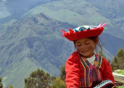 Petite fille - Chinchero - Vallée Sacrée