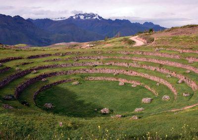 Site agricole inca de Moray - Vallée Sacrée
