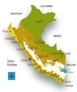 Carte Pérou