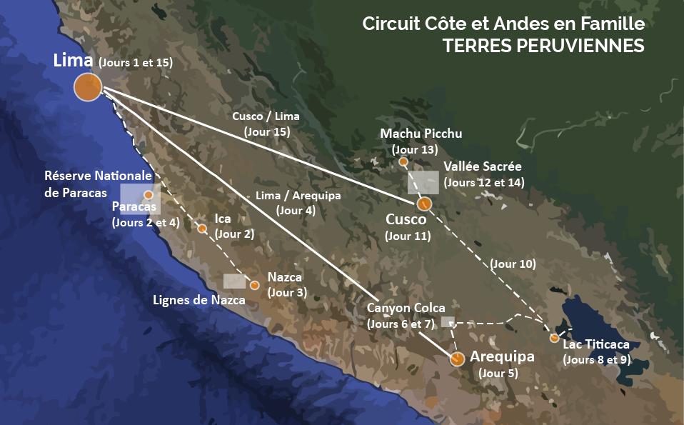 Circuit Pérou en famille 15 jours